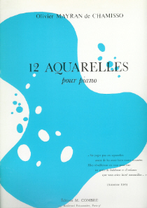 partition : 12 Aquarelles