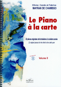 score : Le piano à la carte (vol.2)